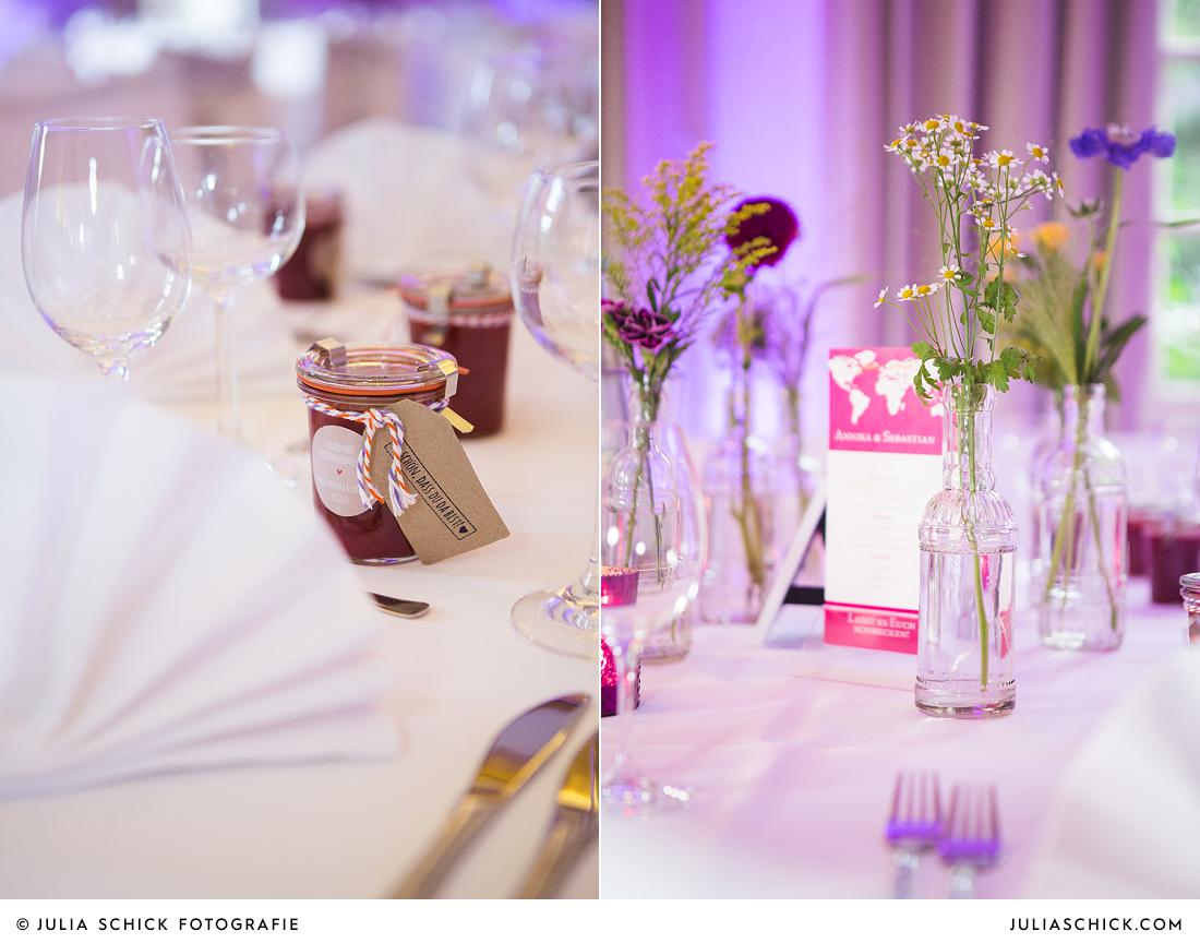 Hochzeitsdekoration Stapelskotten von Jens Weidemann