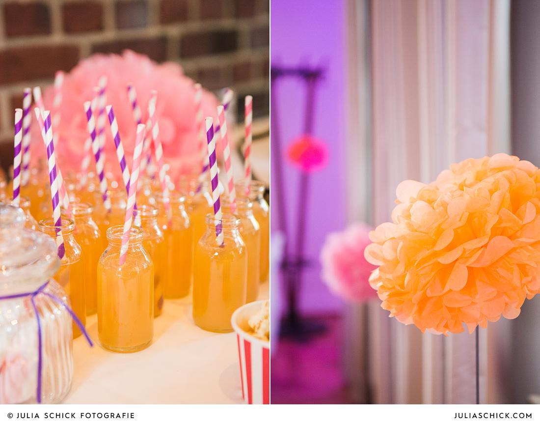 Hochzeitsdekoration Stapelskotten