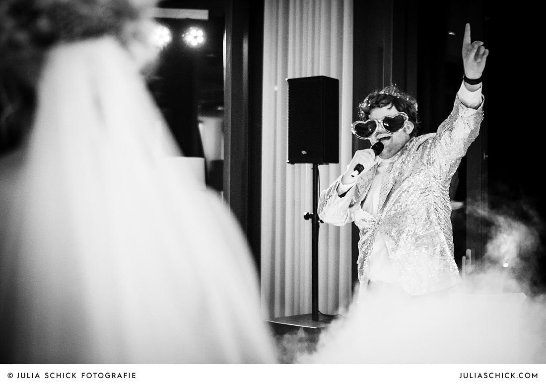 DJ DeBug als Trauzeuge bei Hochzeit im Stapelskotten