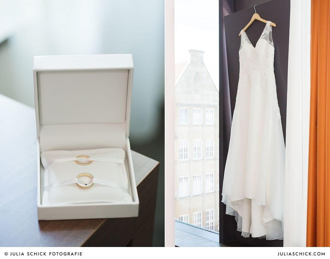 Brautkleid von Pronovias im Treff Hotel Münster