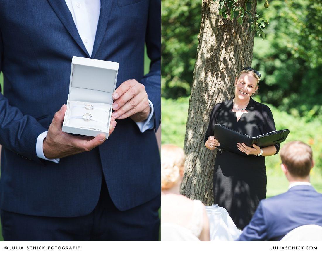 Hochzeitsrednerin Nadja Dennersmann bei Freier Trauung auf Gut Havichhorst