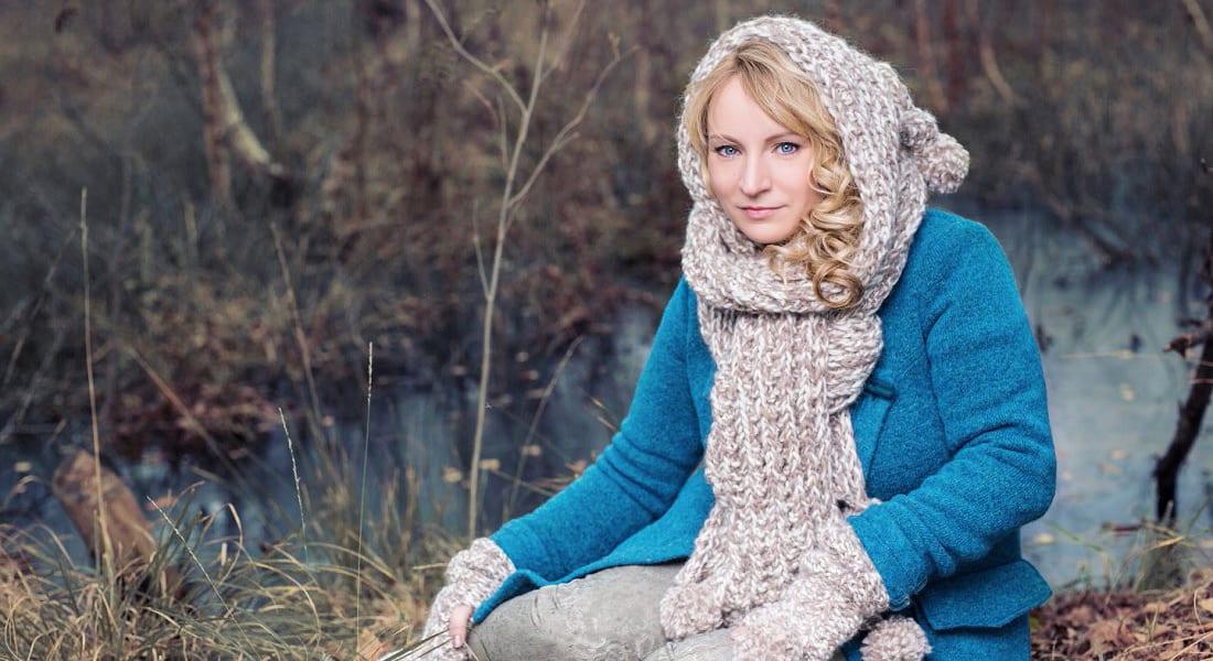 Sängerin Lore Lei fotografiert von Julia Schick Fotografie im Venner Moor