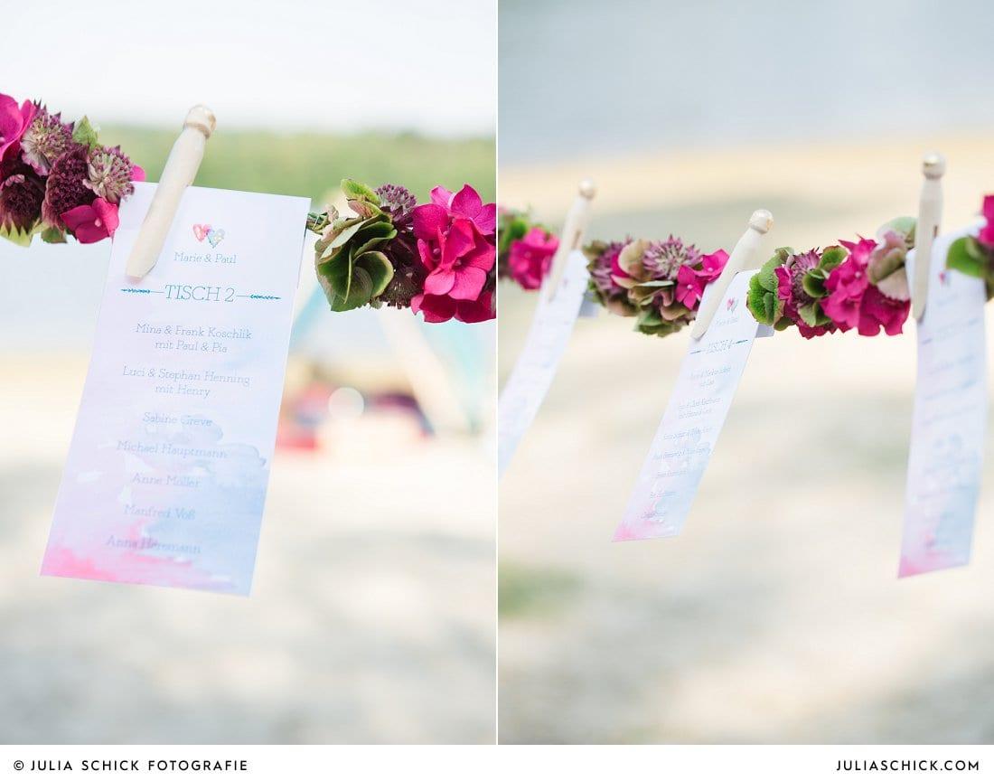 Hochzeitspapeterie imi wedding, Zelt im Boho Stil