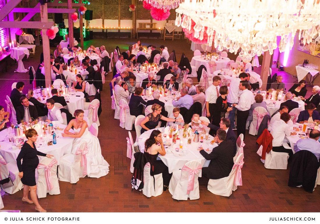 Hochzeitssaal auf Gut Kump in Hamm