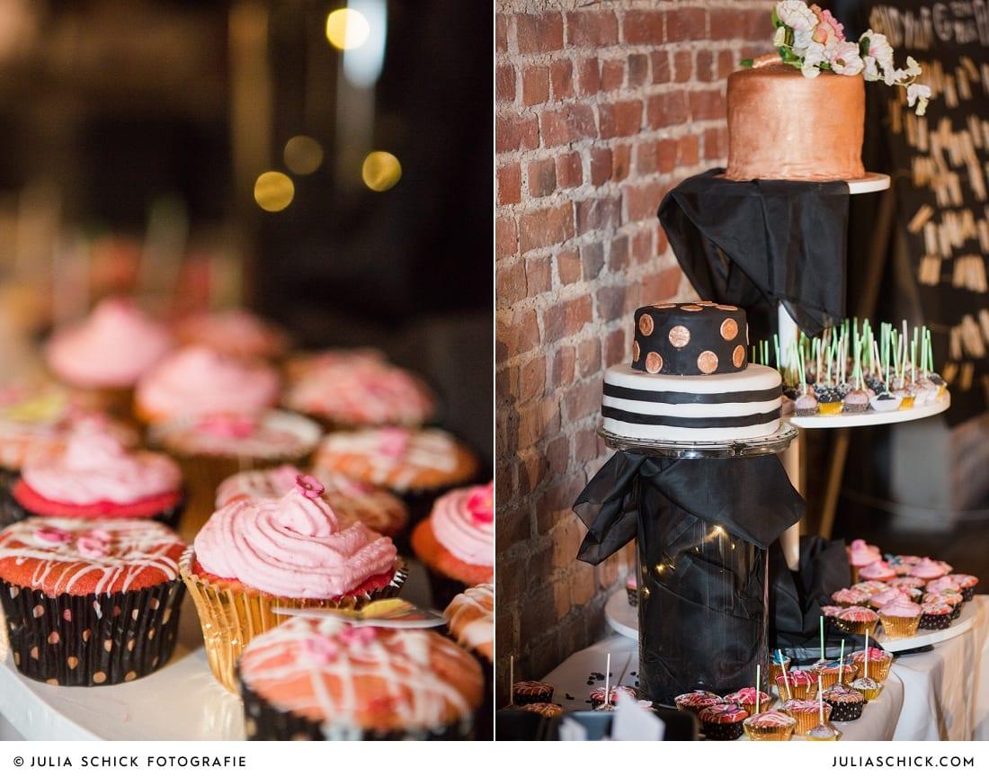 Candybar bei Hochzeitsfeier auf der Künstlerzeche Unser Fritz