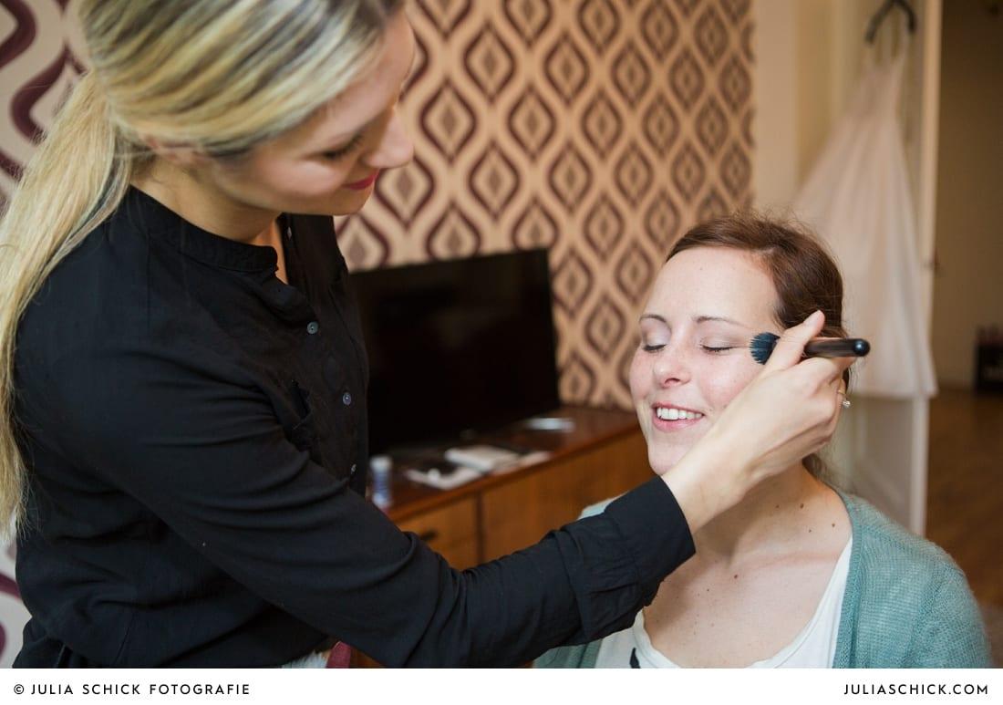 Hochzeitssyling von der Make-up Artistin Sandra globke