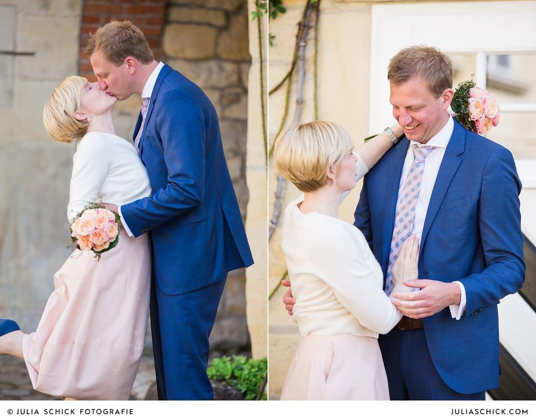Hochzeitsfotis standesamtliche Trauung Haus Havixbeck