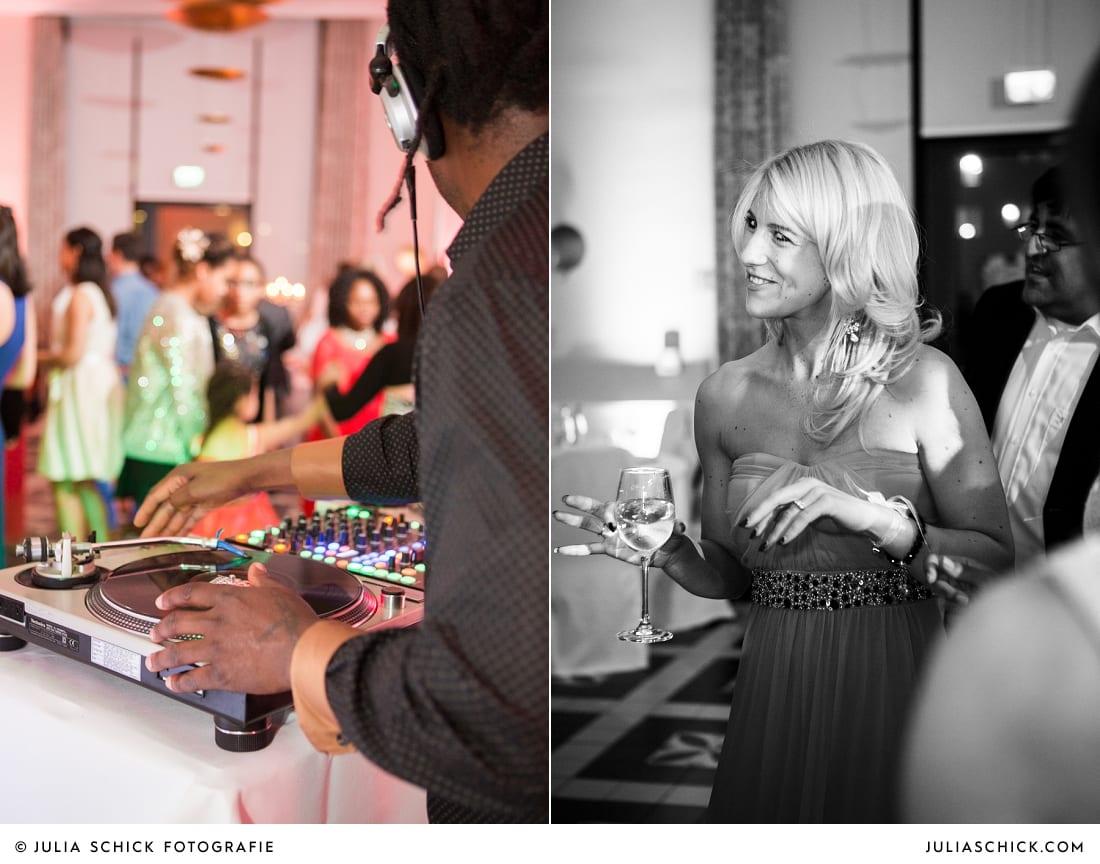 DJ legt auf bei Hochzeitsfeier in der Remise des SportSchloss Velen