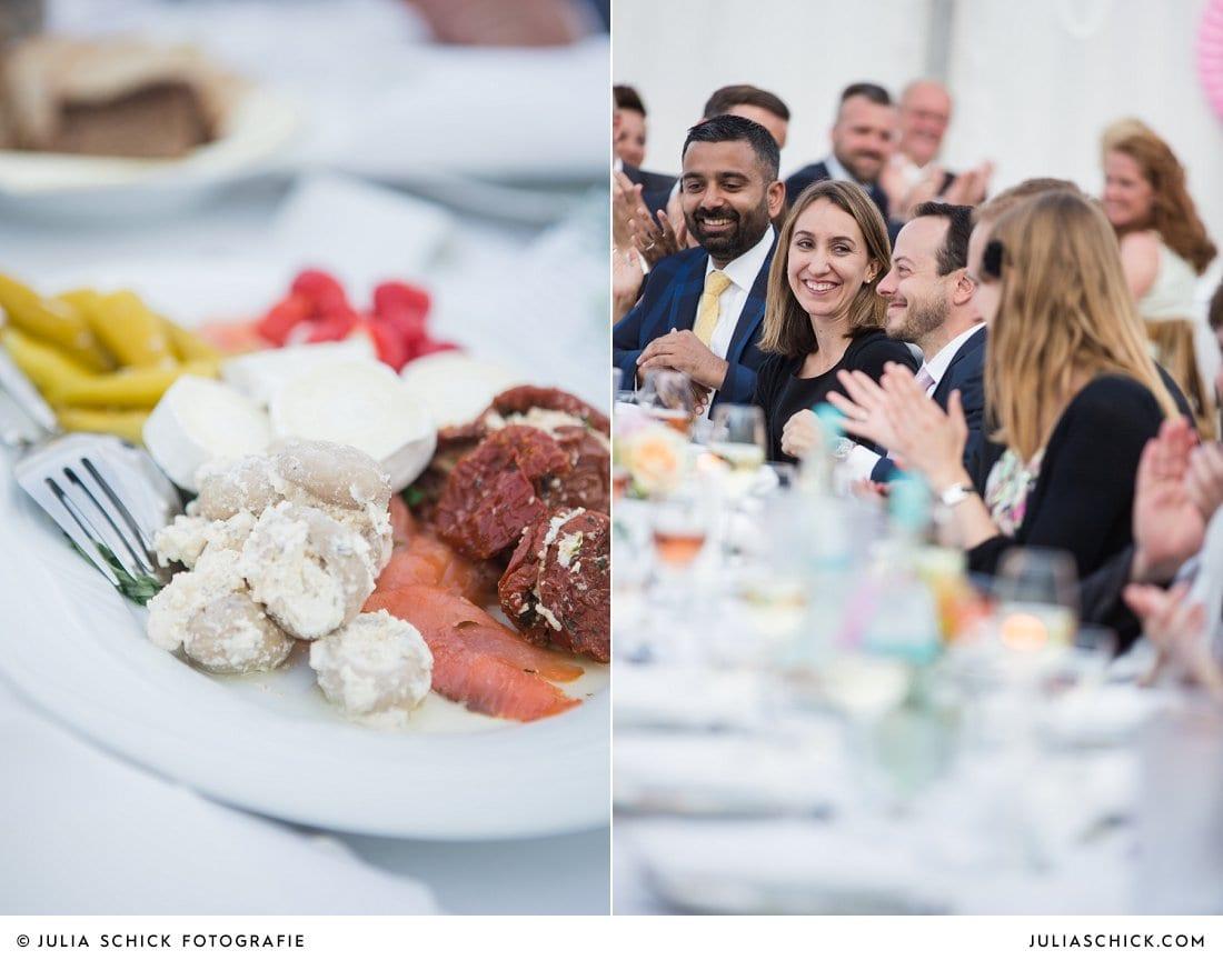 Gäste bei Hochzeitsfeier in Ahaus Alstätte
