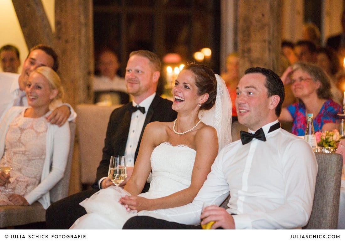 Vorführung bei Hochzeit im Torhaus des Hof zur Linde Münster