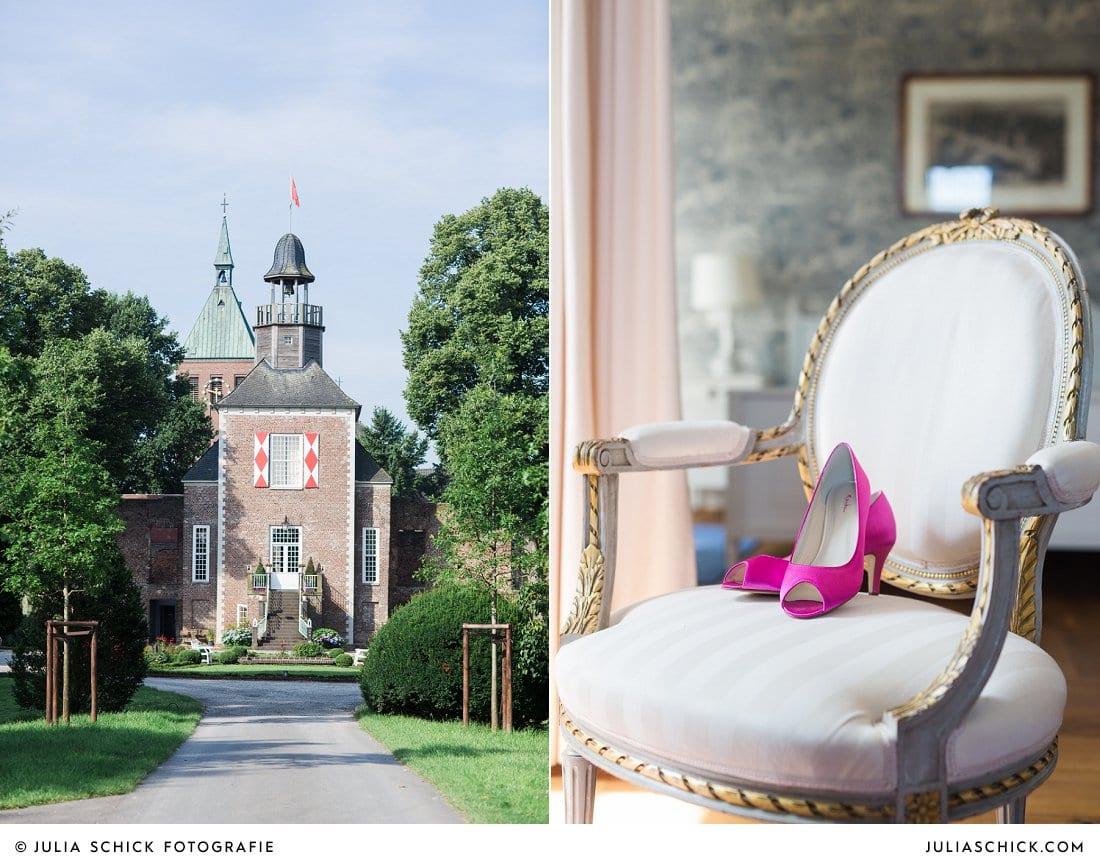 Hochzeitslocation Hotel Schlossruine Hertefeld in Weeze