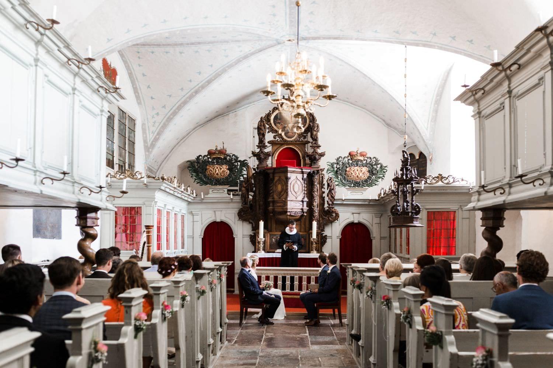 Hochzeit in der Kapelle von Schloss Glücksburg