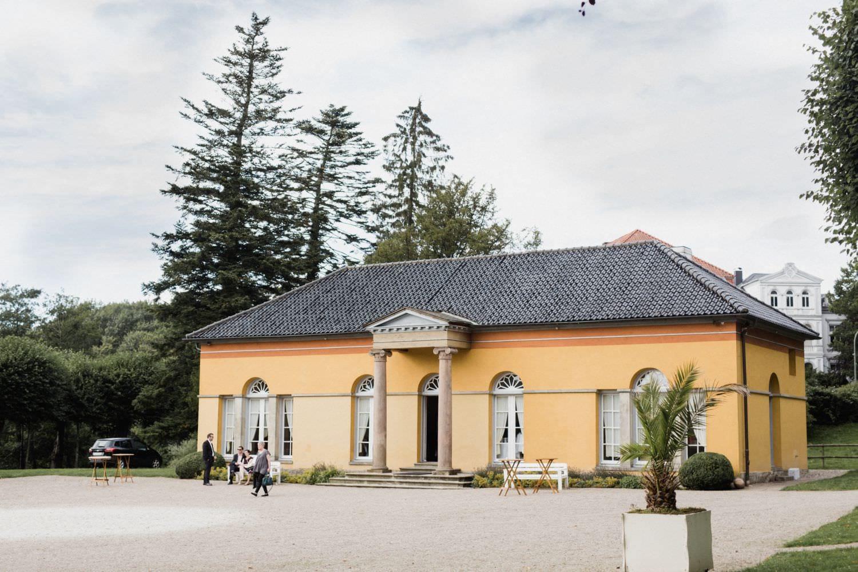 Die Orangerie von Schloss Glücksburg als Hochzeitslocation