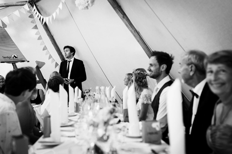 Rede des Schwagers des Bräitigams bei deutsch-dänischer Hochzeit in Glücksburg