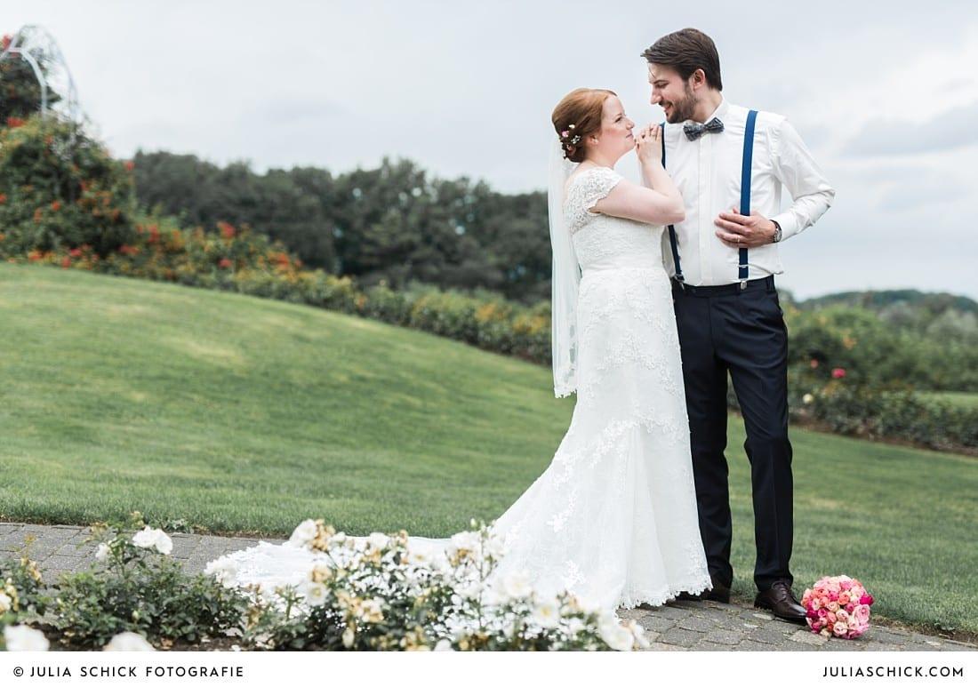 Hochzeitsfotos im Rosengarten Sepperade