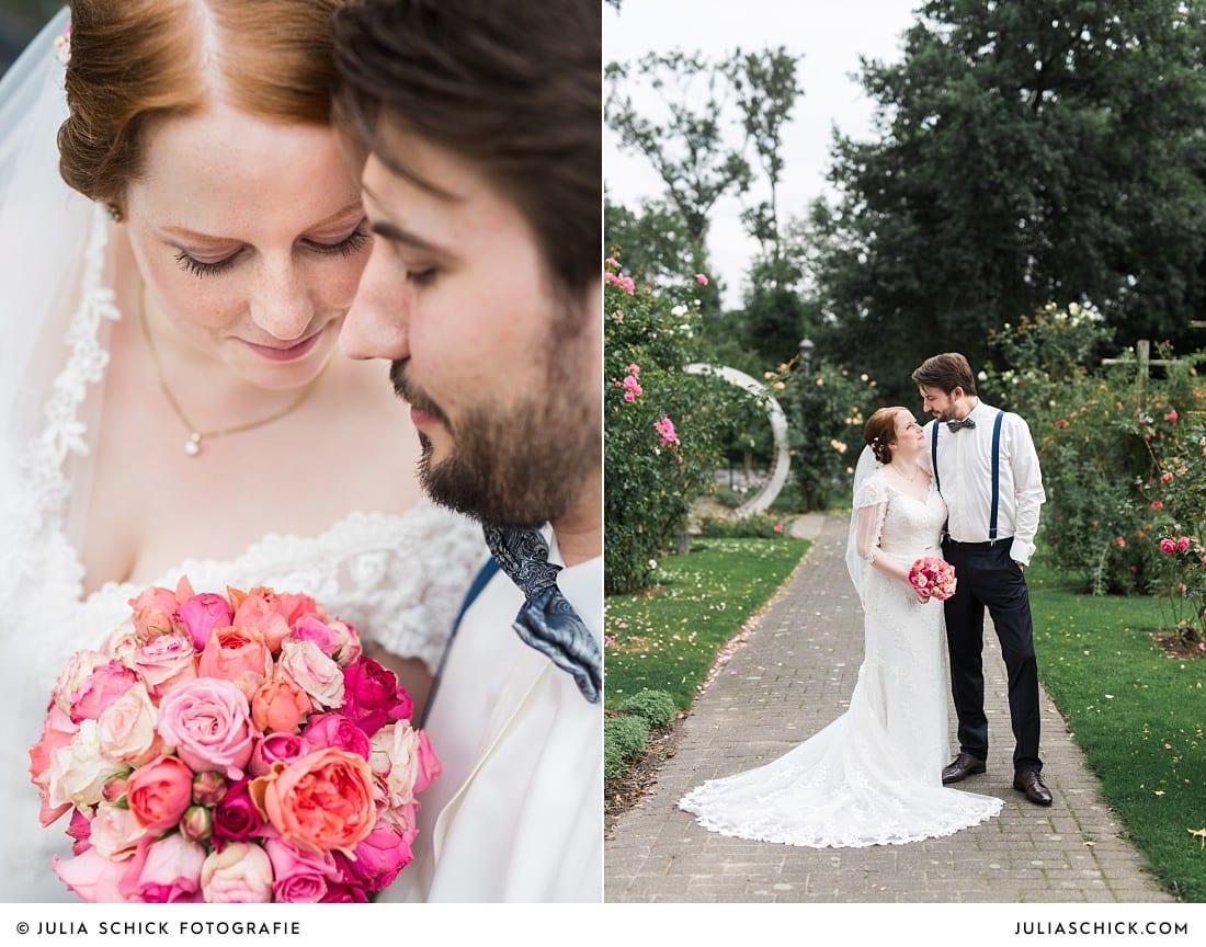 Hochzeitsfotos im Rosengarten Sepperade bei Lüdinghausen