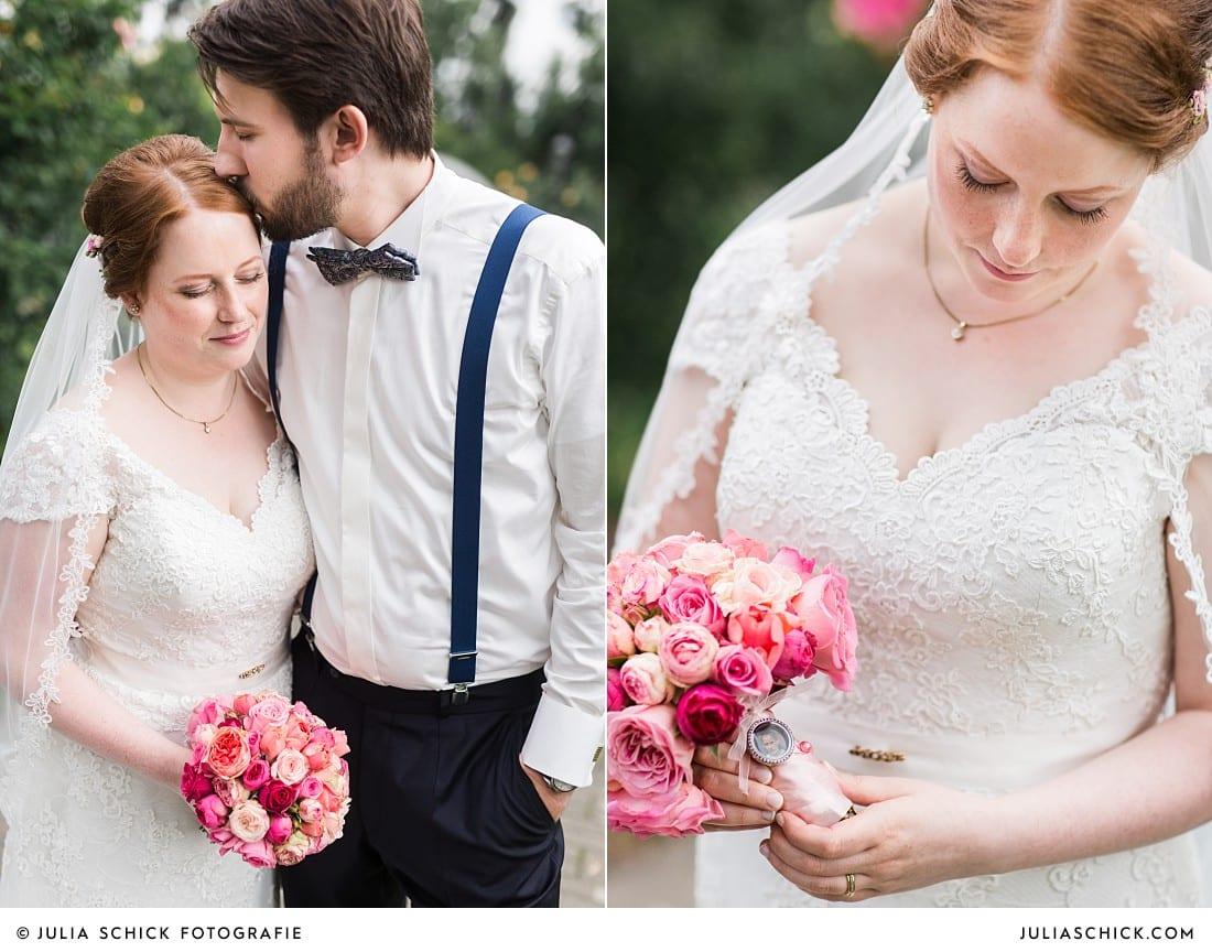 Hochzeitsfotos im Rosengarten Seppenrade