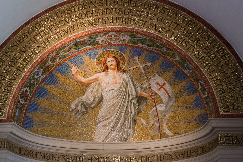 Alatrschmuck in der Dyckburgkirche in Münster Handorf